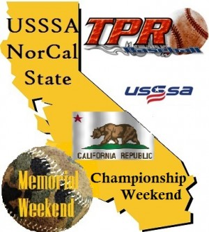 USSSA California State Championship/Memorial Weekend (May 25-27, 2019) 4 game minimum.