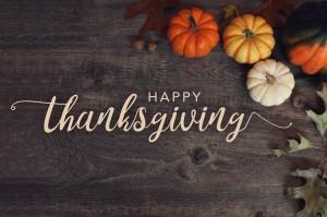 Thanksgiving Weekend (November 27-28, 2021) *NO Event*